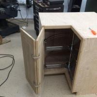 Salice Face Frame Self-Closing Pie-Corner Cabinet Hinge ...