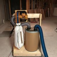 Dust Right Wall Mount Dust Collector | Rockler Woodworking ...