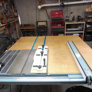 Track Saw Crosscut Table