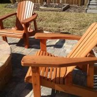 Adirondack Chair Templates with Plan | Rockler Woodworking ...