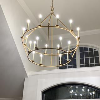 e f chapman darlana 50 inch 20 light chandelier by visual comfort and co