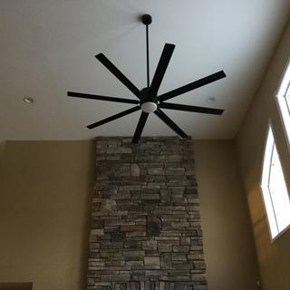vast 72 inch ceiling fan with light kit by progress lighting