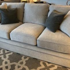 Leon S Mackenzie Sofa Small Leather Sectional With Chaise Collins User Submitted Image
