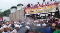 pembakaran bendera PKI dan PDI Perjuangan