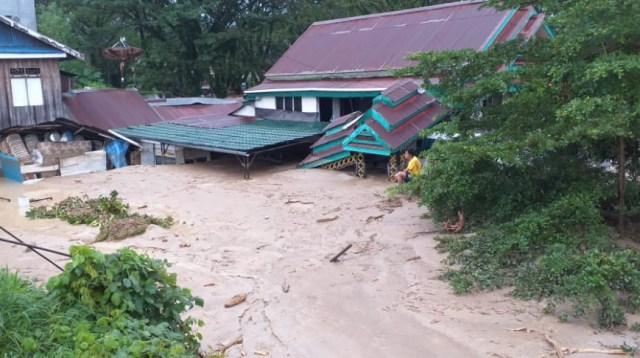 Banjir Bandang di Kabupaten Luwu Utara, Provinsi Sulawesi Selatan (BPBD Kabupaten Luwu Utara)