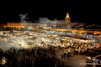 Djemaa el Fna, Marokko, Foto/Copyright: Rolf G. Wackenberg