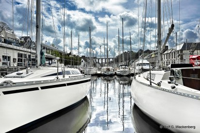 Morlaix, Bretagne, Foto/Copyright: Rolf G. Wackenberg