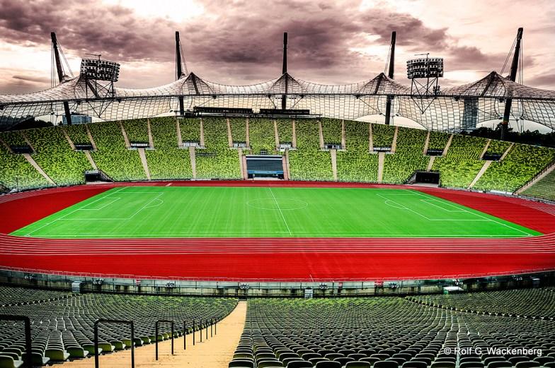 Olympiastadion München, Foto/Copyright: Rolf G. Wackenberg