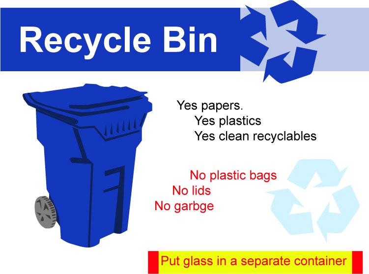 blue bins wacker sanitary
