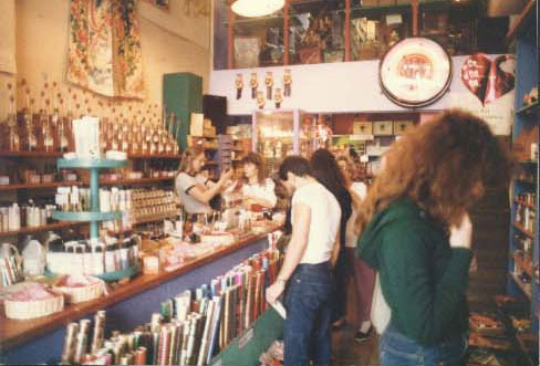Late 70's - Inside Sunset Blvd. Soap Plant