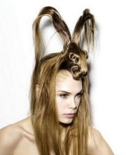 weird & crazy hairstyles
