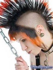 weird & crazy hairstyles