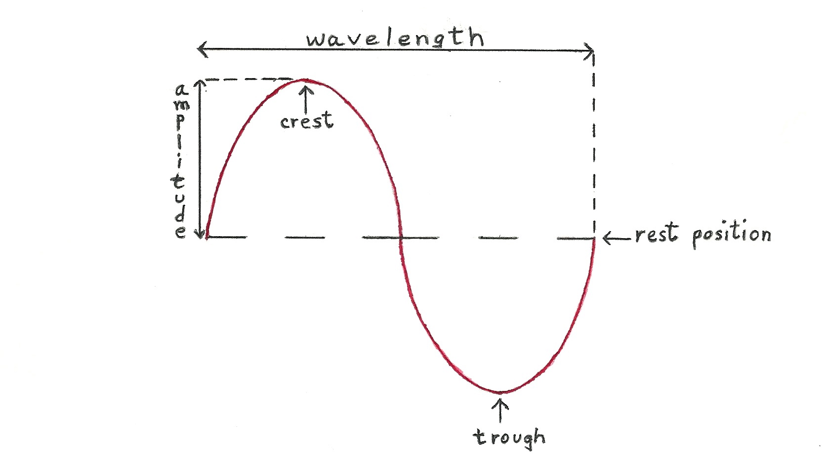 hight resolution of labeled sine wave diagram diagram data schema a labeled wave diagram
