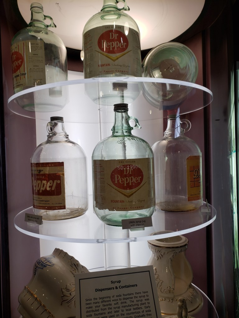 Dr. Pepper Syrup Bottles