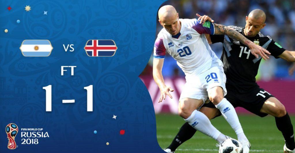冰島攻進世界盃首球 爆冷踢平阿根廷 - WaCowLA 哇靠!洛杉磯 Los Angeles : WaCowLA 哇靠!洛杉磯 Los Angeles