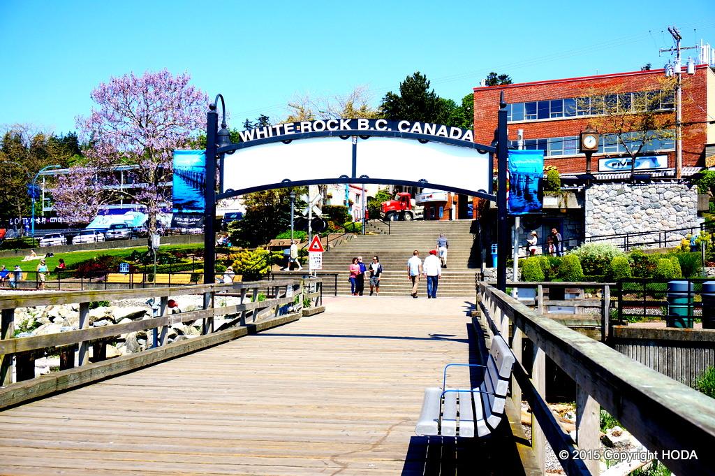 ホワイトロック カナダ canada