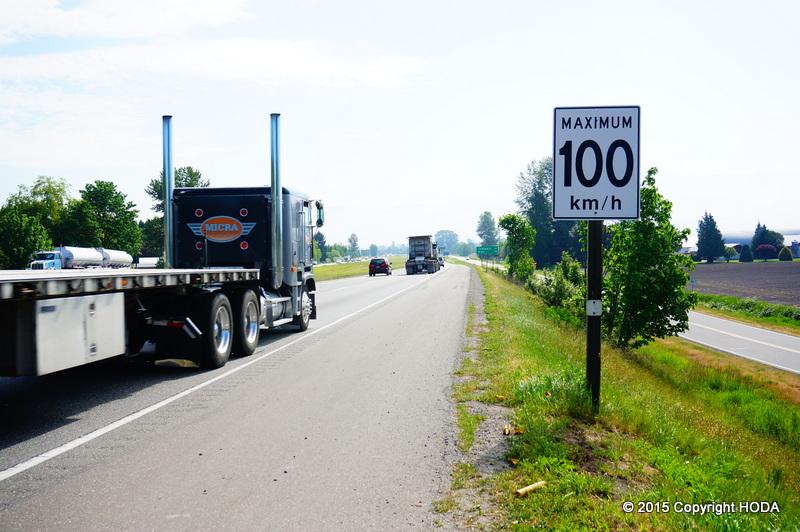 カナダ 高速道路
