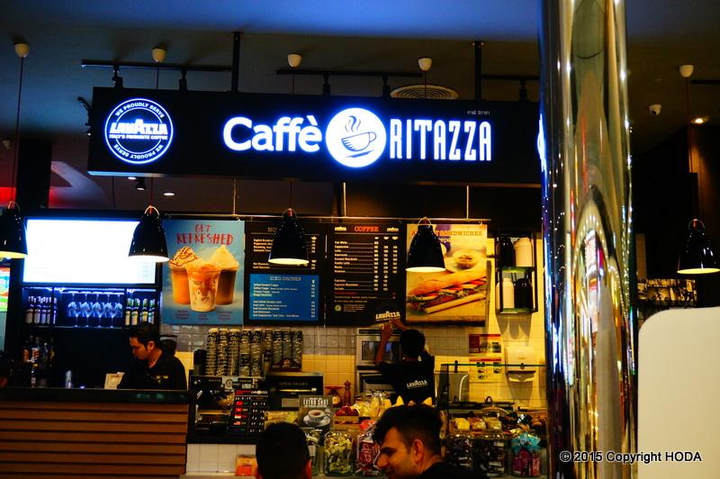 スワンナプーム国際空港 カフェ