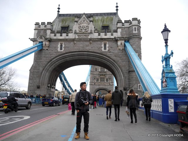 at London Bridge