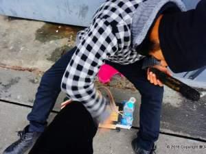 靴磨き イスタンブール