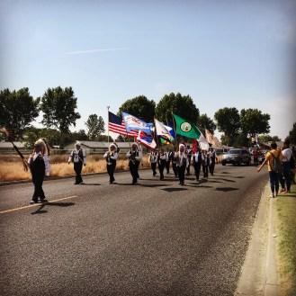Yakama Treaty Days Parade, photo by Kristin Sullivan