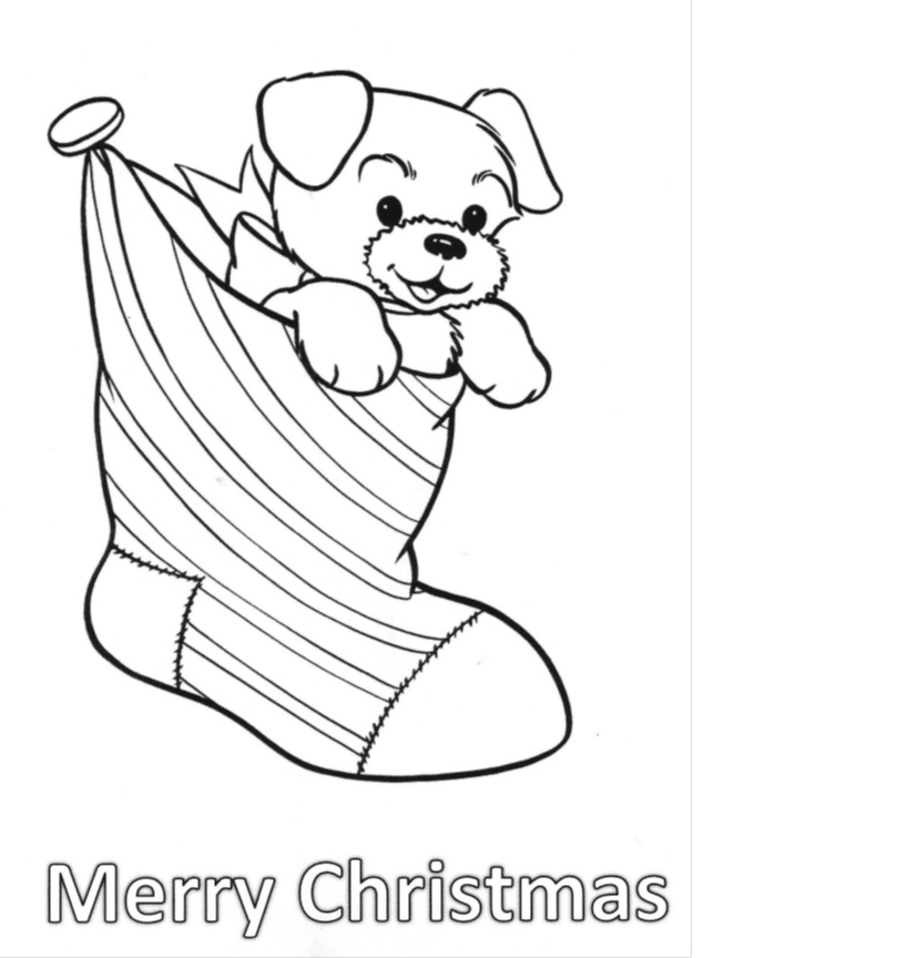 Christmas Coloring Contest!