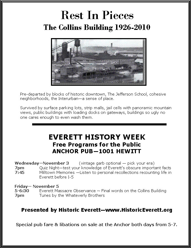 EVERETT HISTORY EVENTS