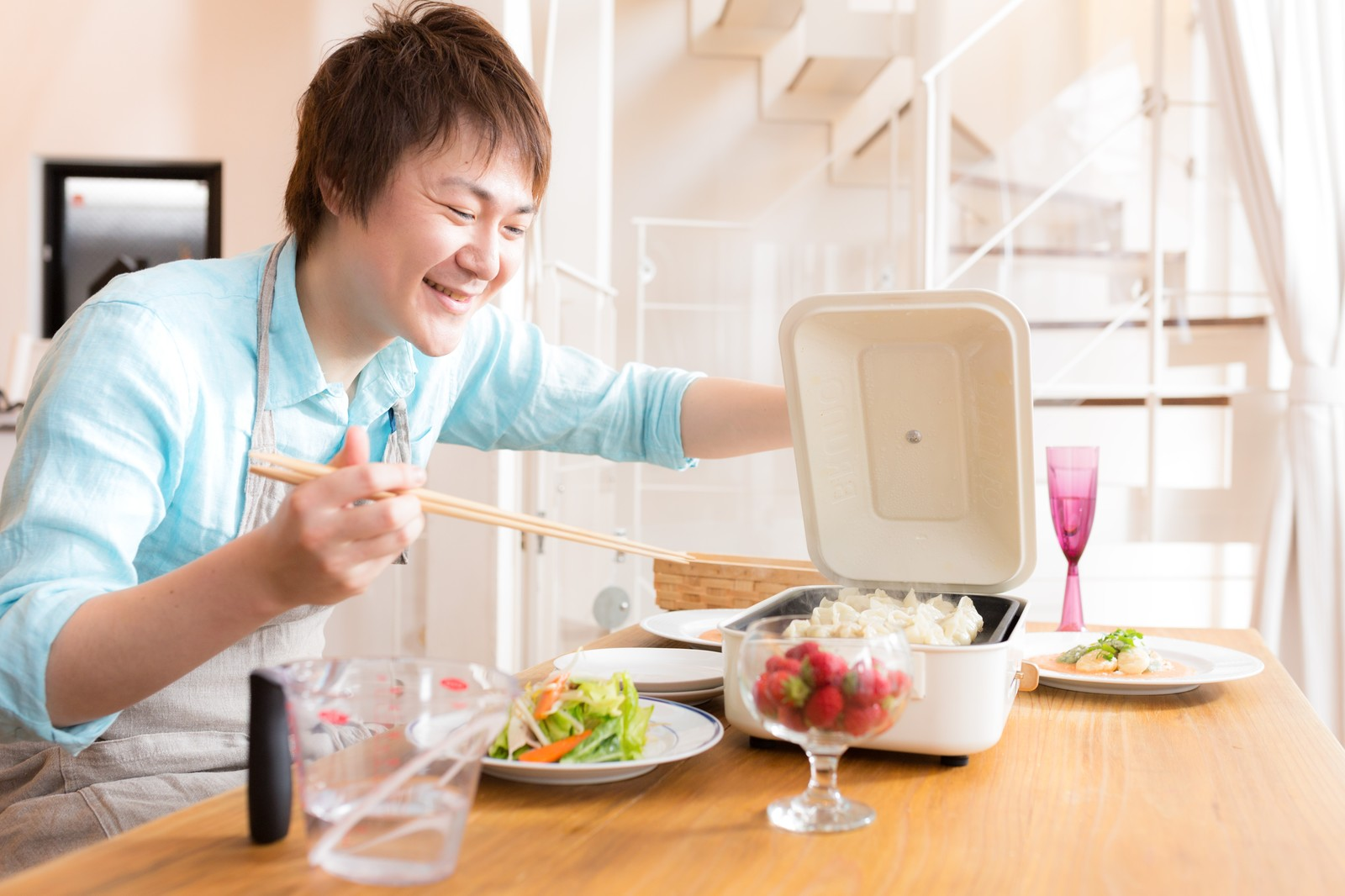 妻の誕生日何も予定なし・・な時は手料理で喜ばせてみては?
