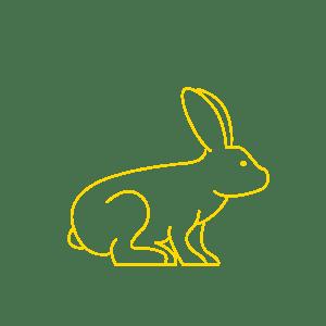 撫でるのをやめた瞬間、ショックを隠しきれないウサギが最高www (動画あり)