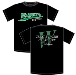 Waddells Pub and Grill Logo Shirt