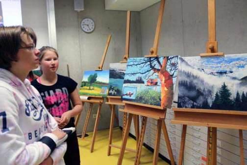 Kunst in der Marienschule