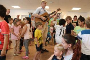 Für Musik für die Kids sorgten Christian Schigulski und Jan Birther.