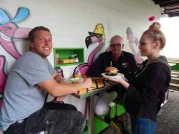 Bald wieder Jam Jam-Burger in Werden.