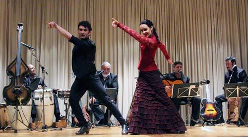 Maria Del Mar tanzt Flamenco