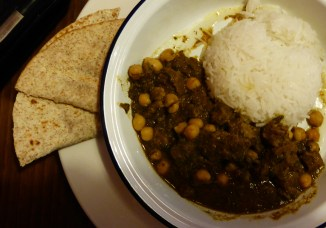 Leverton & Halls' Kashmiri Lamb Curry