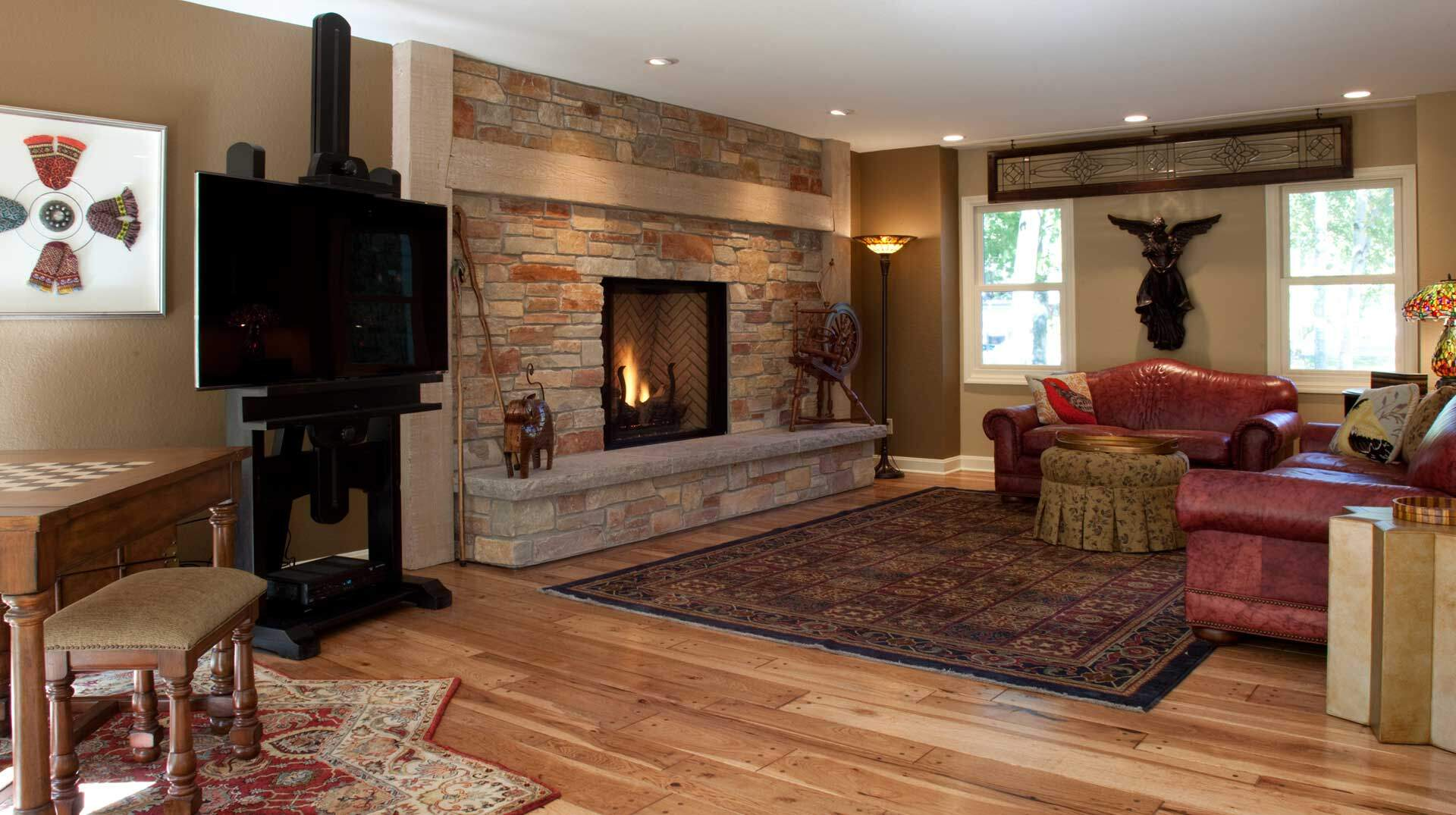 Custom Fireplaces Wisconsin