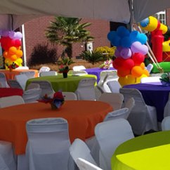 Chair Cover Rentals Florence Sc Bar Height Outdoor Chairs Tent Table Wadeentertainment Com Tables