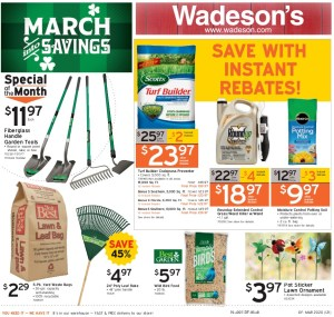 March into Savings between 3/6/20–3/18/20!