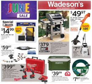 Our June Sales Flyer Runs 5/29/20–6/10/20!