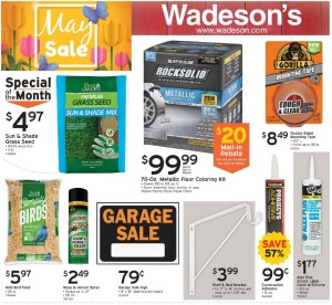 Our May Sales Flyer Runs From 5/15/20–5/31/20!