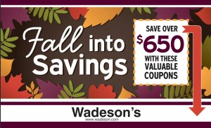 Our October Coupon Book Runs From 10/16/20–11/1/20!
