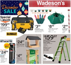 Our 2020 Holiday Sale Flyer Runs 11/27/20–12/16/20!