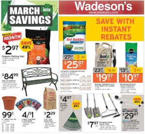 March into savings from 3/19/21–3/31/21!