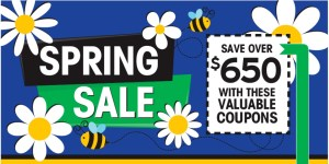 Buzz On In For Our Spring Coupon Sale From 4/16/21–4/28/21!