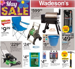 Our May Sales Flyer runs 5/7/21–5/26/21!
