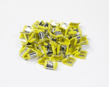Plastic Lined Staple Clips