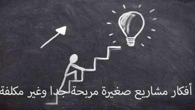 أفكار مشاريع صغيرة