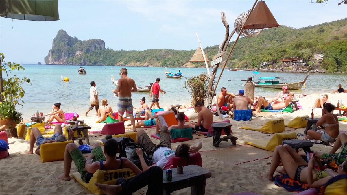 Koh Phi Phi: Stones bar hostel