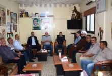 Photo of وفد قيادي من حركة امل يزور حركة فتح في مخيم الرشيدية