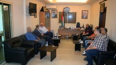 Photo of وفد من مخيم نهر البارد يلتقي هيئة العمل الفلسطيني المشترك في سفارة دولة فلسطين بالعاصمة بيروت